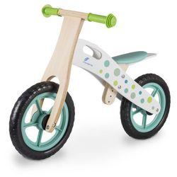 Rowerek biegowy INDIANA drewniany Zielony + DARMOWY TRANSPORT!