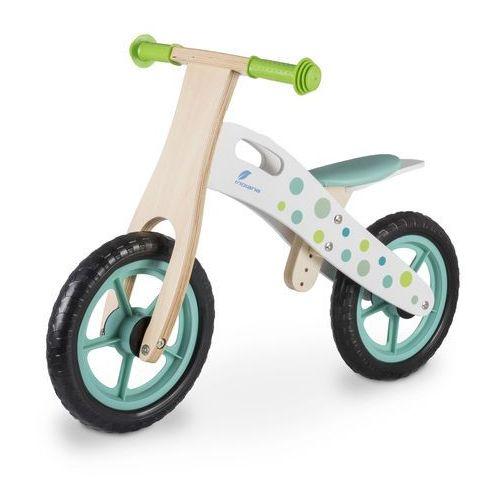 Rowerki biegowe, Rowerek biegowy INDIANA drewniany Zielony