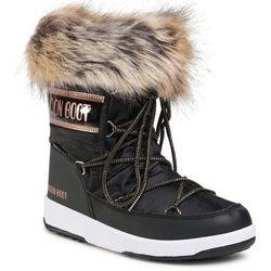 Śniegowce MOON BOOT - Mb Jr Girl Monaco Low Wp 34052400002 D Black/Copper