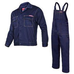 Komplet ubrań roboczych bluza, ogrodniczki XL (182/108-112) Granatowe