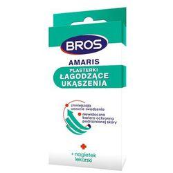 Plasterki, plastry łagodzące ukąszenia Bros Amaris. Opakowanie 20szt.
