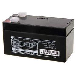 Akumulator AGM 12V 1,3Ah F4,7