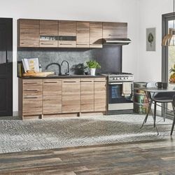 Gotowy zestaw mebli kuchennych Deftrans Laguna 2,4 m
