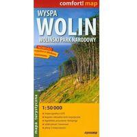 Mapy i atlasy turystyczne, WYSPA WOLIN, WOLIŃSKI PARK NARODOWY 1 : 50 000 LAMINOWANA
