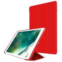 Etui Alogy Smart Case Apple iPad 9.7 2017 / 2018 silikon Czerwone - Czerwony