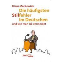 Pozostałe książki, Die häufigsten Stilfehler im Deutschen Mackowiak, Klaus