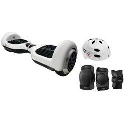 Elektryczna deskorolka smartboard FIAT 500 6.5 Biało-czarny