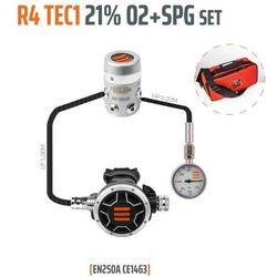 Tecline R4 TEC1 21% O2 G5/8 z manometrem, zestaw stage - EN250A