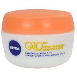 Nivea Visage Q10 Plus energizujący krem na dzień przeciw zmarszczkom SPF 15 (Energising Day Cream) 50 ml