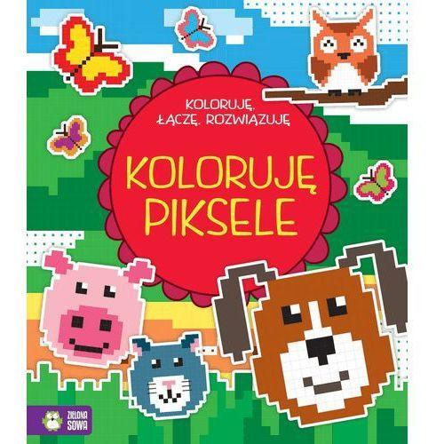 Książki dla dzieci, Koloruję, łączę, rozwiązuję. Koloruję piksele - Praca zbiorowa