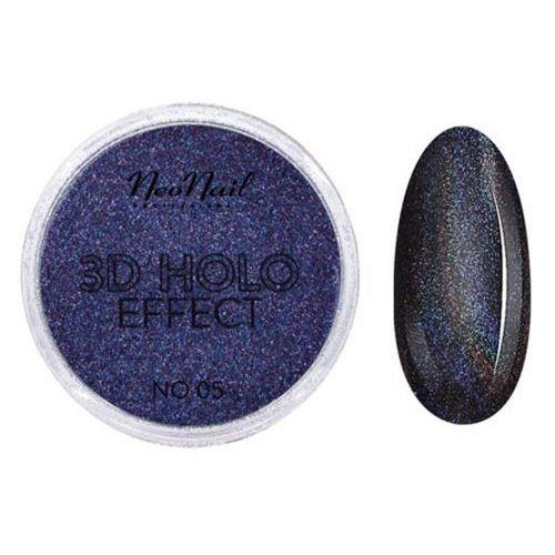 Ozdoby na paznokcie, NeoNail 3D HOLO EFFECT Pyłek do zdobień (No 05)