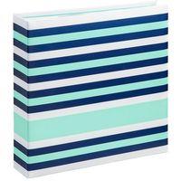 Albumy, Album HAMA Designline 10X15/200 Paski Niebiesko-zielony