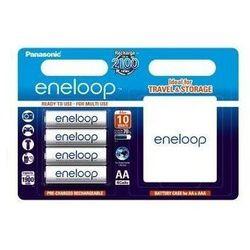 Eneloop R6 AA 1900mAh 4szt. + pudełko Akumulatory HAMA