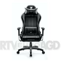 Fotel DIABLO CHAIRS X-One 2.0 Kids Czarno-czarny DARMOWY TRANSPORT