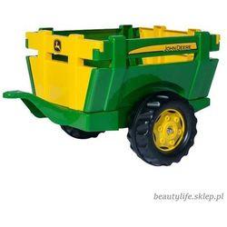 Rolly Toys Traktor John Deere z Przyczepą - BEZPŁATNY ODBIÓR: WROCŁAW!