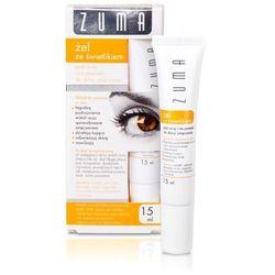 ZUMA Żel ze świetlikiem pod oczy i na powieki do skóry zmęczonej - - 15 ml