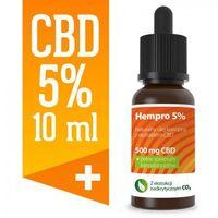 Preparaty ziołowe, Olejek konopny CBD Hempro 5% 10 ml BIO