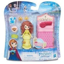 Hasbro Frozen Anna z łóżkiem