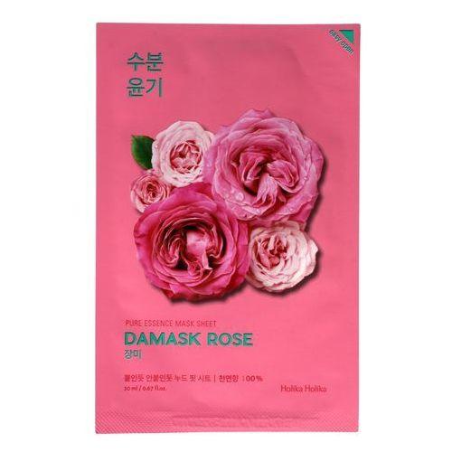 Maseczki do twarzy, Holika Holika, Pure Essence Mask Sheet Damask Rose. Maska do twarzy w płacie - HOLIKA HOLIKA