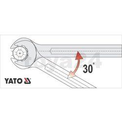 Klucz płaski z polerowaną główką 20x22 mm Yato YT-0374 - ZYSKAJ RABAT 30 ZŁ