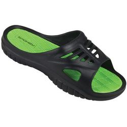 Klapki basenowe SPOKEY Merlin Czarno-Zielony (rozmiar 42)