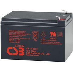 Akumulator żelowy wymienny 12V 12Ah CSB Orvaldi GP12120 F2