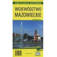 Mapy i atlasy turystyczne, Województwo mazowieckie 1:270 000 (opr. miękka)