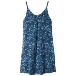 Sukienka shirtowa z nadrukiem bonprix ciemnoniebiesko-niebieski z nadrukiem