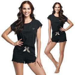 Piżama damska Julia w kolorze czarnym