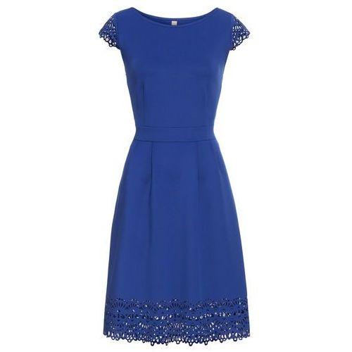 Suknie i sukienki, Sukienka z wycięciami bonprix ciemnoniebieski