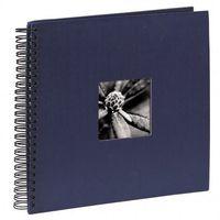 Fotoalbumy, Hama Album FINE ART 36X32/50 niebieska okładka/ czarne kartki