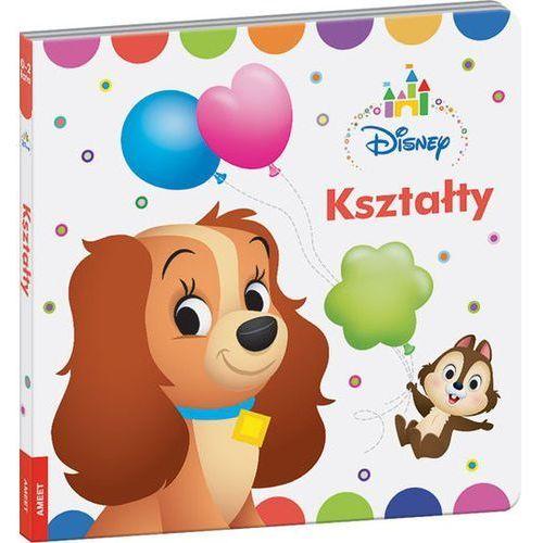 Książki dla dzieci, Disney Kształty (opr. twarda)