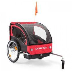 DURAMAXX Trailer Swift przyczepka rowerowa dla dzieci 2-osobowa maks. 20 kg