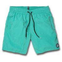 Kąpielówki, kąpielówki VOLCOM - Lido Solid Trunk 16 Mysto Green (MYS) rozmiar: XL