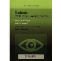 Książki medyczne, Badanie w lampie szczelinowej (opr. miękka)