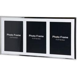 Metalowa ramka na 3 zdjęcia, do zdjęć - mini galeria foto