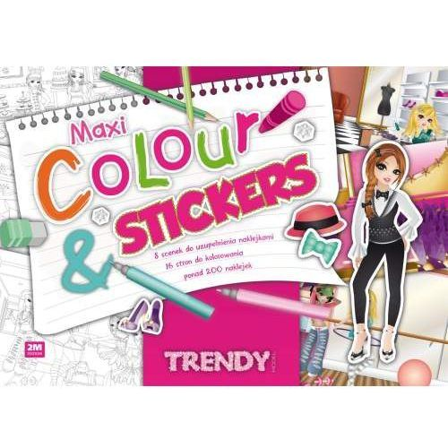 Pozostałe zabawki, Maxi Colour & Stickers