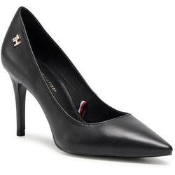 Szpilki TOMMY HILFIGER - Essential Leather High Heel Pump FW0FW05283 Black BDS