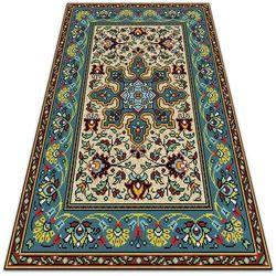 Piękny dywan ogrodowy Piękny dywan ogrodowy Kolorowe wzory geometryczne
