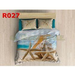 Pościel 3 D bawełna100% 160 x200 +2 poduszki 70x80 R027