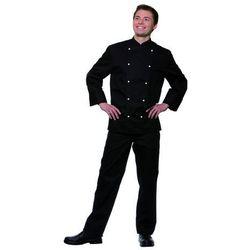 Bluza kucharska męska, rozmiar 62, czarna | KARLOWSKY, Thomas