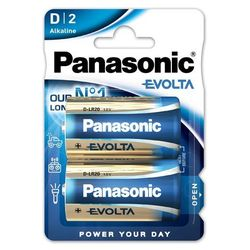 Panasonic bateria Mono/D EVOLTA alkaliczne