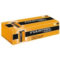 Baterie, 10 x bateria alkaliczna Duracell Industrial 6LR61 9V