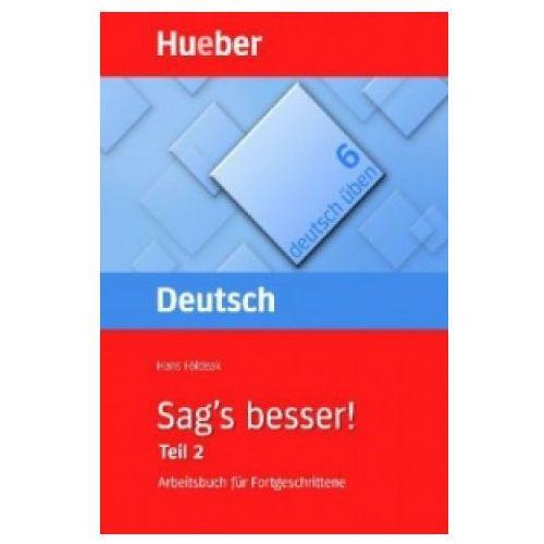 Książki do nauki języka, Deutsch uben 6 sags besser teil 2 (opr. miękka)