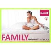 Materace, Materac lateksowy Hevea Family Medicare Plus 120x200