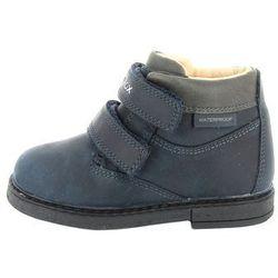 Geox buty za kostkę chłopięce 27 ciemny niebieski