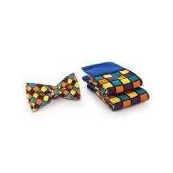 """Skarpety i Muszka PL Spox Sox """"Kostka Rubika"""""""