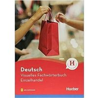 Książki do nauki języka, Visuelles Fachworterbuch Einzelhandel HUEBER - Katja Doubek (opr. broszurowa)
