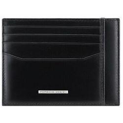 Porsche Design Classic Etui na karty bankowe RFID skórzana 11,5 cm black ZAPISZ SIĘ DO NASZEGO NEWSLETTERA, A OTRZYMASZ VOUCHER Z 15% ZNIŻKĄ