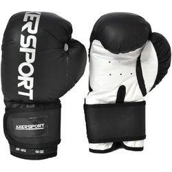 Rękawice bokserskie AXER SPORT A1342 Czarno-Biały (10 oz)